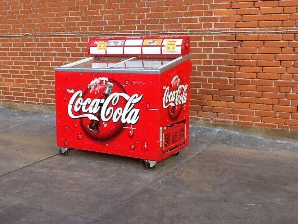 """Køledisk """" Coca Cola """" - fed køledisk"""