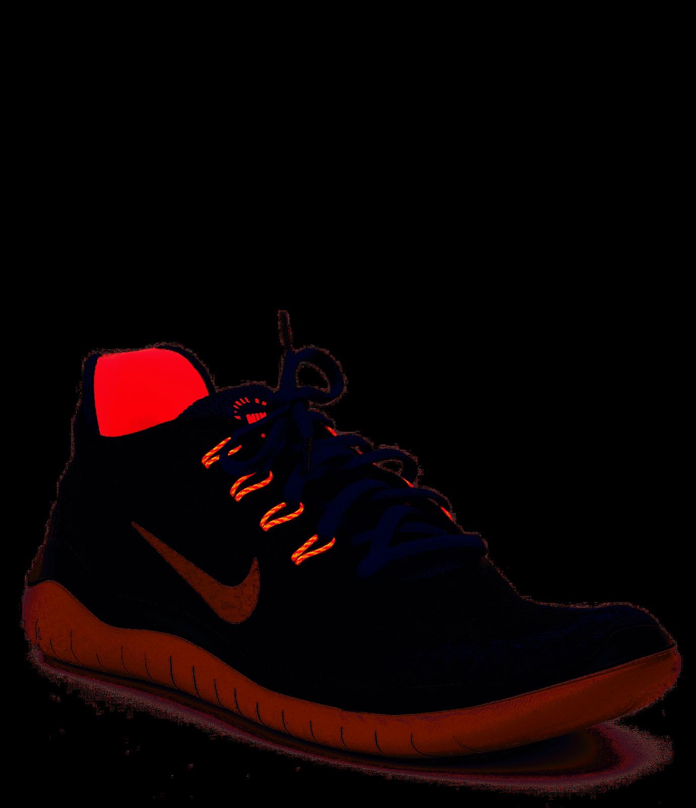 HOMBRE Nike Free Rn Rn Rn 2018 Zapatillas 942836-010 Negro Azul Carmesí Talla 11.5 e09711