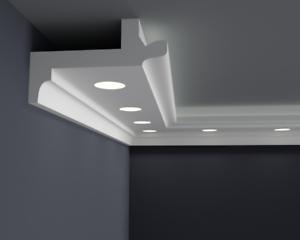10 Meter LED Light Bebauung Stucco Strip For Indirect Lighting XPS OL-18 Spo