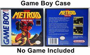 Metroid II: Return of Samus - Game Boy GB Case - *NO GAME*
