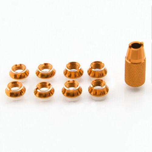 8P Transmitter Schalter Befestigungsmutter /& Schlüssel Fit Für Futaba T8FG T14SG