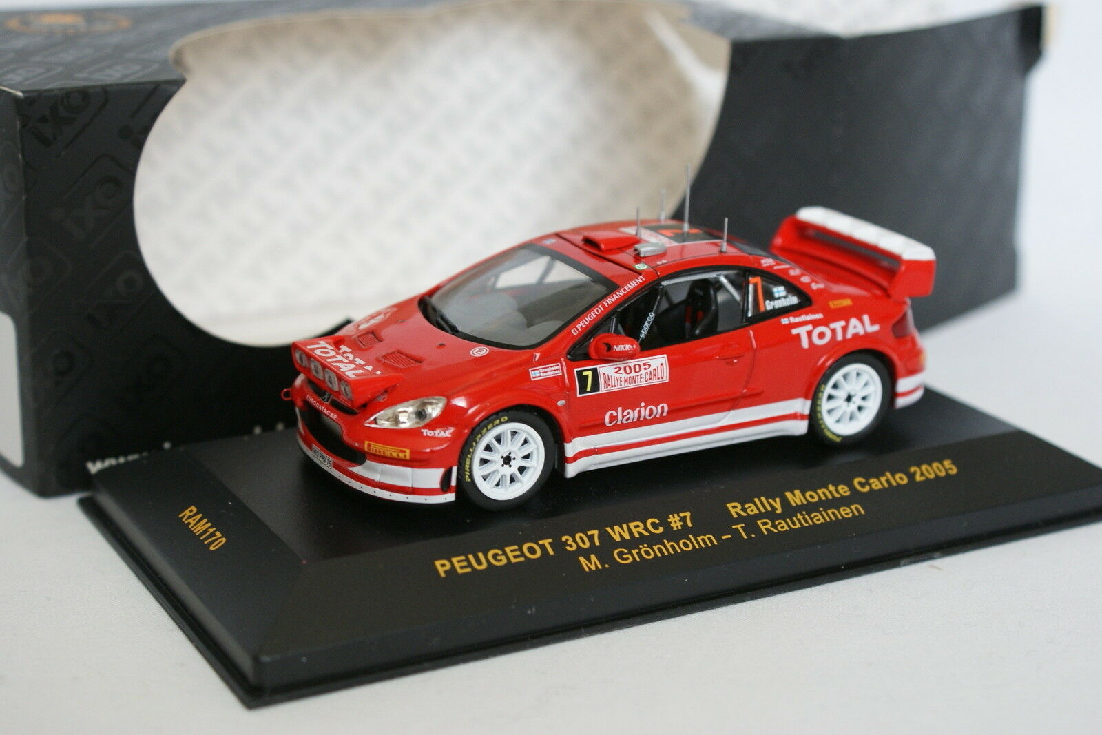 Ixo 1   43 - peugeot monte 307 wrc rallye monte peugeot carlo 2005 n.7 ff4a82