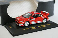 Ixo 1/43 - Peugeot 307 WRC Rallye Monte Carlo 2005 N°7