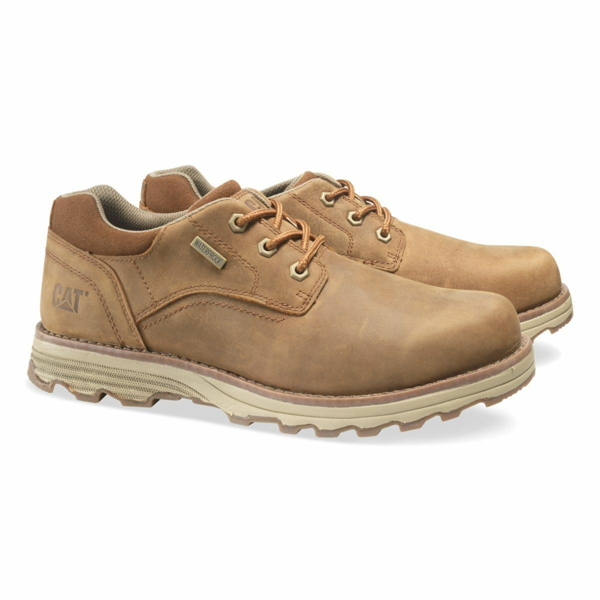 Caterpillar schuhe Mens Prez Waterproof braun Sugar P720683