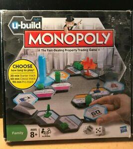 """""""u-build"""" Monopoly Hasbro (2010)-afficher Le Titre D'origine Doux Et AntidéRapant"""