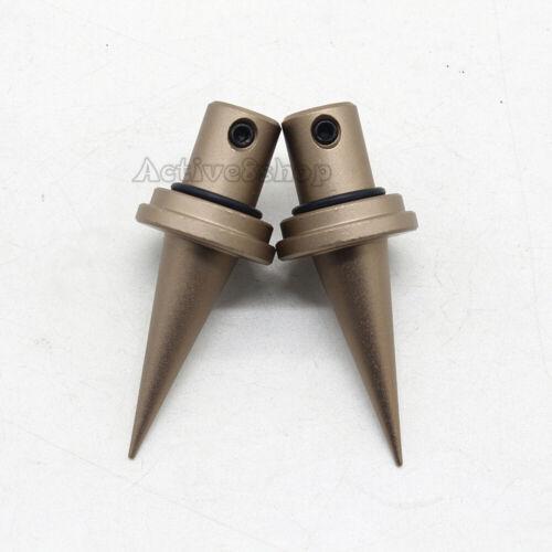 V8 Bipod Spike Quick Change Bipod Spike Feet Replacement 2pcs Fits V8 Bipod T1