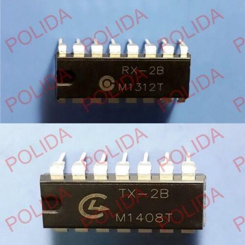 IC Silan//SL Dip RX-2B+TX-2B RX2B+TX2B RX-2+TX-2 20PCS 10 pares
