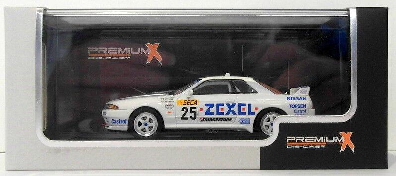 Premium X 1 43 Scale PRD336 Nissan Skyline GTR Winner Spa 1991 White