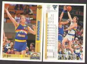 US. 1991-92. Upper Deck. #297. Joe Wolf