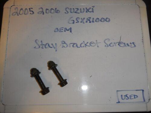 2005 2006 Suzuki GSXR1000 OEM Stay Bracket Screws
