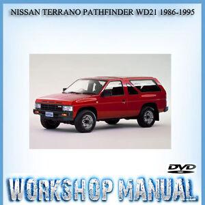 nissan terrano pathfinder wd21 1986 1995 workshop service repair rh ebay com au nissan pathfinder d21 workshop manual nissan pathfinder d21 workshop manual