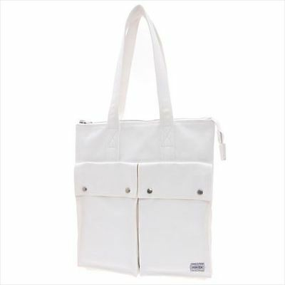 New PORTER FREE STYLE TOTE BAG 707-07143 WHITE From JP