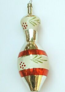 Antique Vintage USSR Glass Russian Christmas Ornament Tree ...