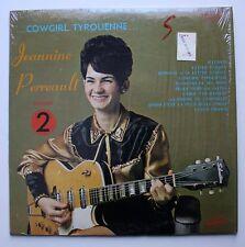 Jeannie Perreault French Canadian Folk LP Silvertone Guitar