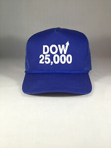 42ba7a3f599 Image is loading Dow-25000-Blue-Hat-Dow-25-000-Cap-