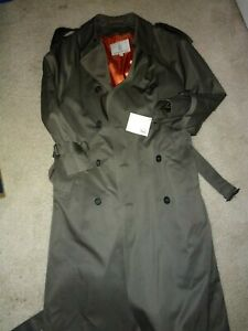 London Fog Trench Coat Women Size 36 Short New With Tags Ebay