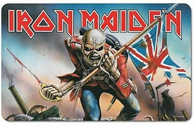 Iron Maiden The Trooper embossed steel sign 300mm x 200mm lsh