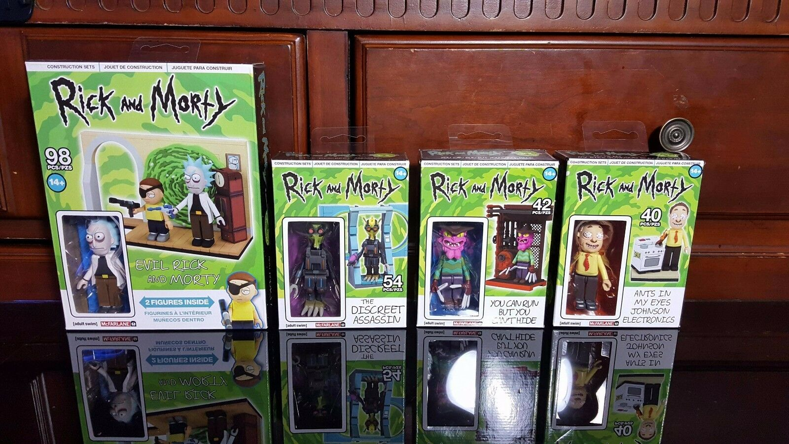 Rick And Morty Lot - Bundle of 4 BRAND NEW construction sets - Evil Rick and M..