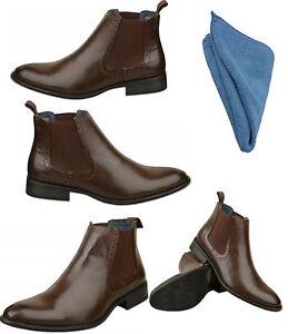 Polishing Dark Brown Leather Shoes