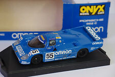 ONYX PORSCHE 962 C OMRON #55 LE MANS 1990 1/43