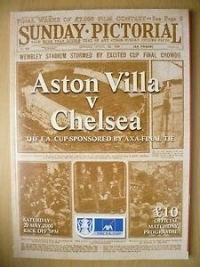2000 FA CUP FINAL ASTON VILLA v CHELSEA - ilford, Essex, United Kingdom - 2000 FA CUP FINAL ASTON VILLA v CHELSEA - ilford, Essex, United Kingdom