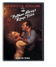 THE POSTMAN ALWAYS RINGS TWICE (1981) -  DVD - REGION 1 - Sealed