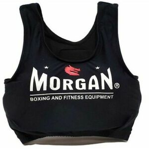 White MORGAN Boxing Muay Thai MMA Trainning Singlet