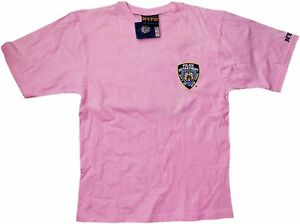 75f586e8 Nypd Nypd Pink Tee Short Sleeve New York Finest Back T-Shirt Nypd | eBay