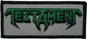 OFFICIAL-LICENSED-TESTAMENT-LOGO-EMBROIDERED-SEW-ON-PATCH-THRASH-METAL