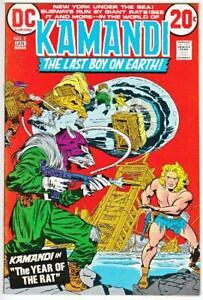 Kamandi-2-3-4-and-6-DC-Comics-1973-VF-NM-9-0