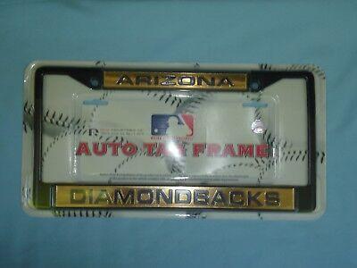 Arizona Diamondbacks Chrome Auto Tag License Plate Frame