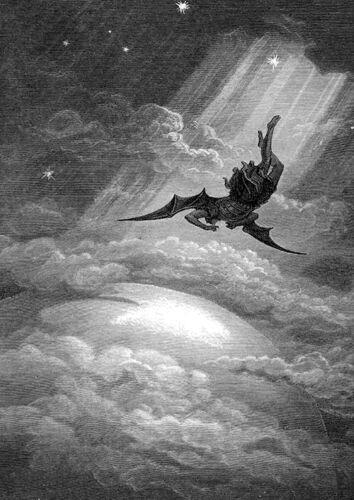 Gustave Dore Paradise Lost ++ POSTER DIN-A2 ++ Nightwish Lacrimosa ++ NEU !!