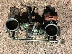 Ducati-851-Einspritzanlage-Einspritzbrucke-Drosselklappen-Injection