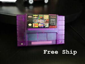 110-In-1-Game-Cartridge-SNES-Super-Nintendo-USA-NTSC-16-Bit-Multicart-Game