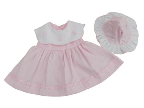 TRADITIONAL ANGEL STYLE FRILLY DRESS PANTS IN PINK WHITE 3,6,12 M BNWT