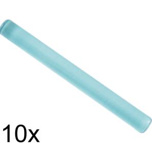 Lego Lot Of 50 Trans Light Blue Bar Lightsaber Wand Stick New
