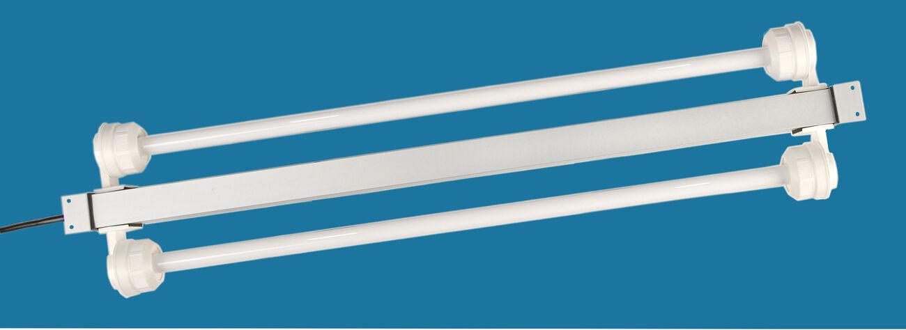 Installazione in alluminio Lampada leuchtbalken t5 e t8 da 4 a 80 Wattip65 IMPERMEABILE