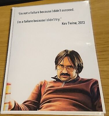 Ricky Gervais Funny Birthday Card David Brent Quote