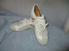 Men's Alessandro Dell' Acqua Made in Italy  Suede Leather/Textile Sneakers UK 10