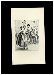 1930 Louis Malteste Illustration Photogravue Fouet Fessée Bdsm Curiosa Spanking