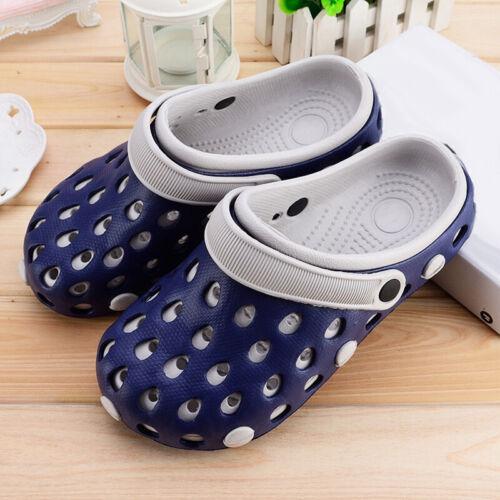 Mens Mules Work Beach Clogs Garden Hospital Sandal Summer Pool Shoes Slippers
