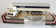 MICRO HERPA HO 1/87 CAMION VOLVO FL10 NORDISK NTS TRANSPORT SEMI REMORQUE IN BOX