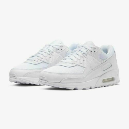 Size 9 - Nike Air Max 90 Triple White 2020 for sale online | eBay