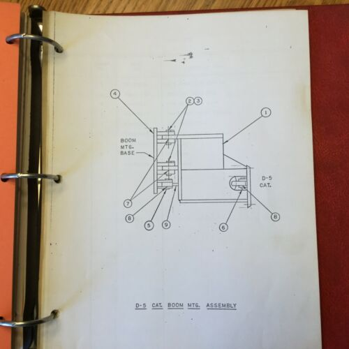 Heavy Equipment Parts & Accessories Business & Industrial MANUAL ...