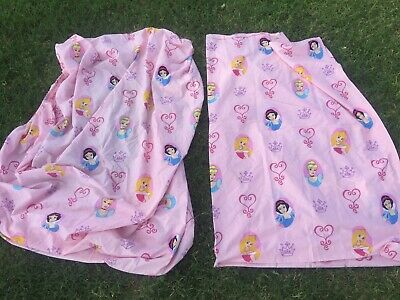 Disney Princess 2 Pc Twin Sheet Set 1 Flat Amp 1 Fitted