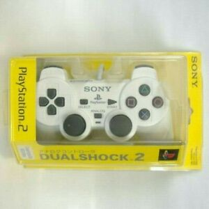 Sony-Dualshock-2-offizielle-Analog-Controller-Keramik-weiss-SCPH-10010-Playstation