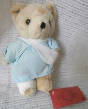 Medi Bear Plush Stuffed Animal with Arm Sling and Leg Cast, Get Well, Patient