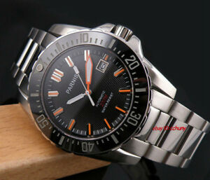 43mm-PARNIS-black-dial-Ceramic-bezel-sapphire-automatic-mens-diving-wrist-watch