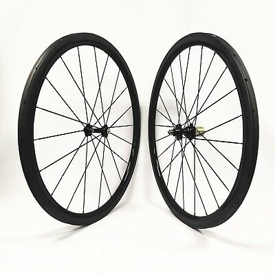 38mm rear wheel,full carbon fiber clincher wheel 700C T700 carbon 25mm width