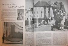 Le MONDE ILLUSTRE 12-1946 /// Thibeault, Masiée, Gilbert, Korff, marais poitevin